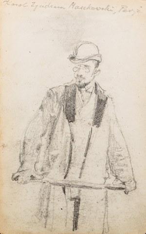 Józef Mehoffer (1869 Ropczyce - 1946 Wadowice), Portret Karola Maszkowskiego