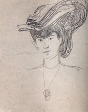 Józef Mehoffer (1869 Ropczyce - 1946 Wadowice), Portret kobiety