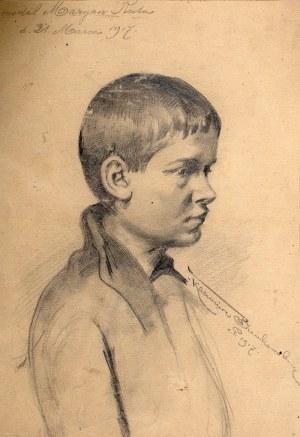 Kazimierz Bieńkowski (1863-1918), Chłopiec, 1917 r.