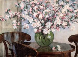 Aleksander Augustynowicz (1865 Iskrzynia - 1944 Warszawa), Kwitnące jabłonie