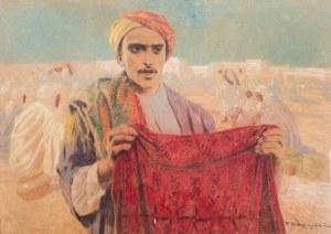 Feliks Michał Wygrzywalski (1875 Przemyśl - 1944 Rzeszów), Sprzedawca dywanów