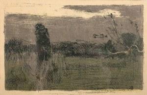 Jan Stanisławski (1860 Olszana/Ukraina - 1907 Kraków), Sad ukraiński (Krajobraz o zmroku), 1904 r.
