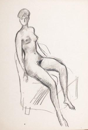 Jan Marcin Szancer (1902 Kraków-1973 Warszawa), Akt w fotelu