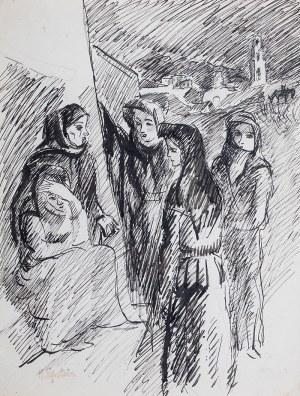 Henryk Epstein (1891 Łódź - 1944 Auschwitz), Spotkanie