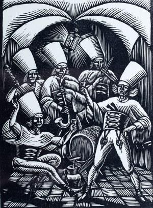Władysław Skoczylas (1883 Wieliczka – 1934 Warszawa), W murowanej piwnicy