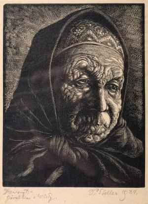 Paweł Steller (1895-1974), Góralka z Wisły, 1934 r.