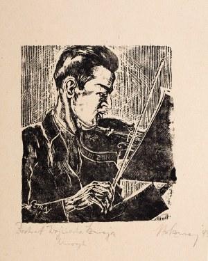 Stefan Szmaj (1893 Książenice-1970 Gdańsk), Portret Wojciecha Szmaja, 1943 r.
