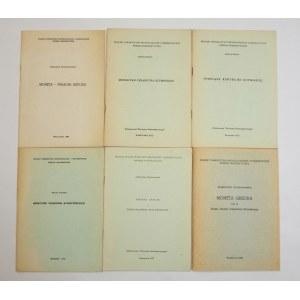 Biblioteczka Biuletynu Numizmatycznego PTAiN – antyk (zestaw 6szt.)