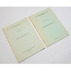 Biblioteczka Biuletynu Numizmatycznego PTAiN – monety krzyżackie (zestaw 2szt.)
