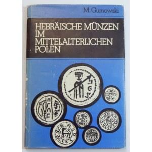 Gumowski Marian, Hebräische Münzen im mittelalterlichen Polen