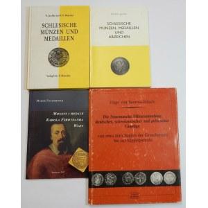 Monety i medale śląskie (zestaw 4szt.)