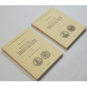 Edmund Kopicki, Katalog Podstawowych typów monet i banknotów ... - Tom VIII część 1 i 2 Monety śląskie okresu nowożytnego (zestaw szt. 2)
