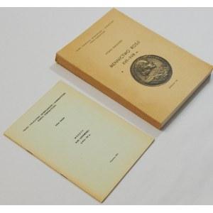 Zestaw literatury numizmatycznej – mennictwo Rosji i Rusi (szt. 2)