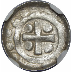 Zbigniew 1102-1107 (najstarszy syn Władysława Hermana)?, Denar krzyżowy