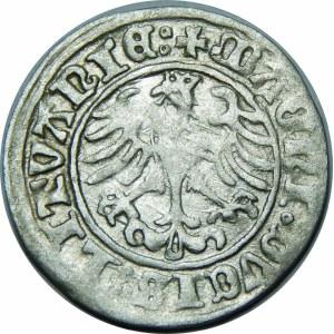 Zygmunt I Stary, Półgrosz 1510, Wilno – małe zero w dacie