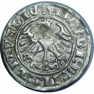 Zygmunt I Stary, Półgrosz 1511, Wilno – dwukropki – przebitka D/I