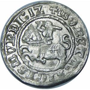 Zygmunt I Stary, Półgrosz 1512, Wilno – ukośny dwukropek