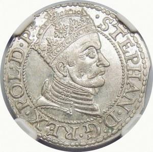 Stefan Batory, Grosz 1579, Gdańsk – z gwiazdką