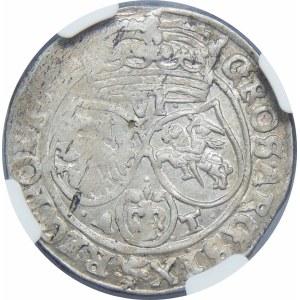 Jan II Kazimierz, Szóstak 1662 AT, Bydgoszcz – z obwódkami