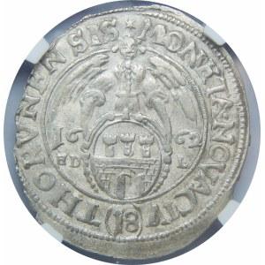 Jan II Kazimierz, Ort 1662, Toruń – M D - L
