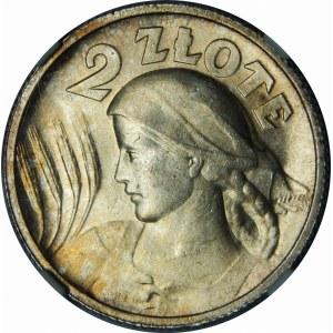 2 złote Żniwiarka 1924 Paryż Wyjątkowa