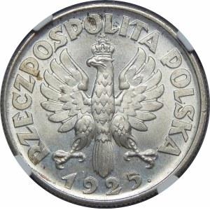 2 złote Żniwiarka 1925 Londyn