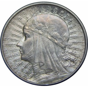 2 złote Głowa kobiety 1934 wyjątkowa