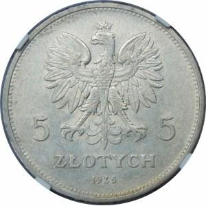 5 złotych Nike 1928 ZZM Warszawa