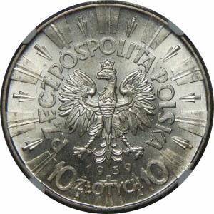 10 złotych Piłsudski 1939