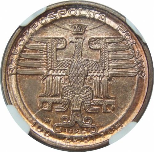 PRÓBA 100 złotych Kopernik 1925 Brąz