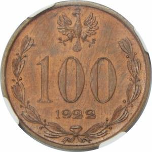 PRÓBA 100 Marek Piłsudski 1922 Miedź