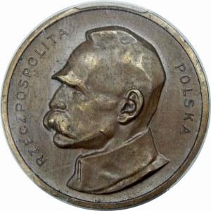 PRÓBA 100 Marek Piłsudski 1922 Brąz