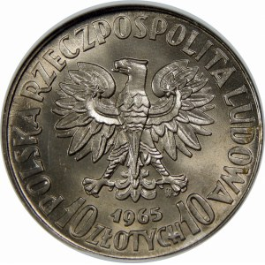 PRÓBA Miedzionikiel 10 Złotych Warszawa 1965
