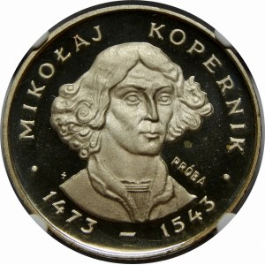 PRÓBA SREBRO 100 Złotych Kopernik 1973