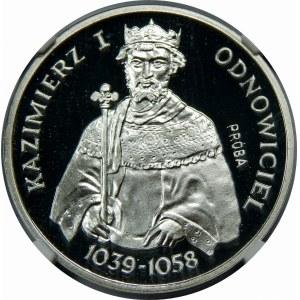 PRÓBA SREBRO 200 Złotych Odnowiciel 1980