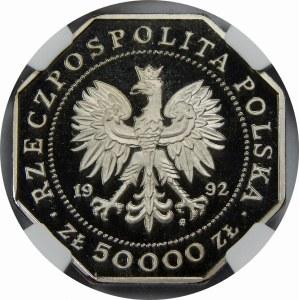 PRÓBA NIKIEL 50000 Złotych Virtuti Militari 1992