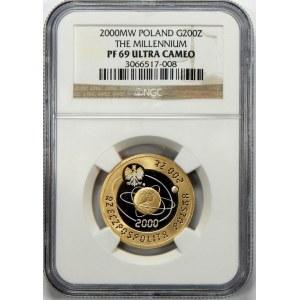 200 złotych ROK 2000