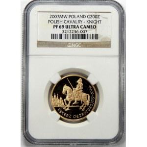 200 złotych Rycerz Ciężkozbrojny 2007