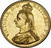 WIELKA BRYTANIA - 5 FUNTÓW - 1887 - VICTORIA