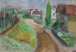 Zygmunt Schreter (1886-1977), Widok wioski