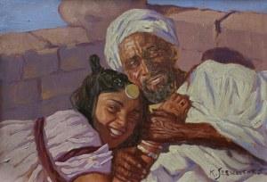 Konstanty Szewczenko (1910-1991), Arab i dziewczyna