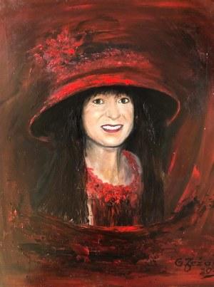 Grażyna Jeżak, Kobieta w czerwieni
