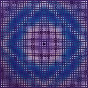 Paweł Wąsowski, Violet vibration, 2019