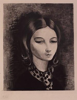Mojżesz Kisling (1891 - 1953), Portret młodej dziewczyny