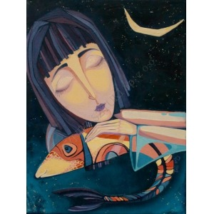Tatsiana Bulyha (1996), De la luna (2015)