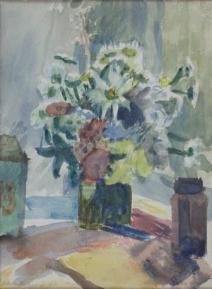 Halina CENTKIEWICZ-MICHALSKA (1912-2007), Kwiaty w wazonie