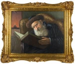 Konstanty Szewczenko (1910 Warszawa-1991 tamże), Rabin czytający księgę
