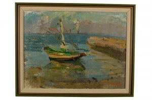 Zygmunt Schreter (1886 Łódź - 1977 Francja), W porcie