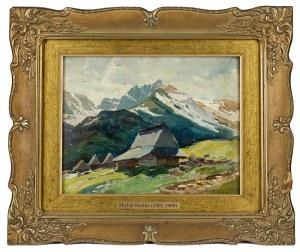 Michał Stańko (1901 Sosnowiec - 1969 Zakopane), Chata w górach