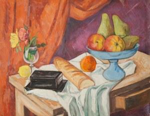 Szymon Mondzain (1888 Chełm - 1979 Paryż), Martwa natura z paterą i owocami